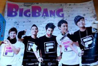 BN A3 size Big Bang poster