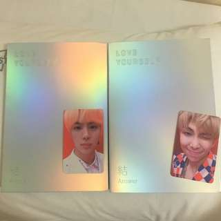 BTS Love Yourself Answer album UNSEALED