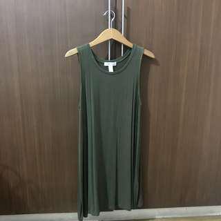 F21 sleeveless dress