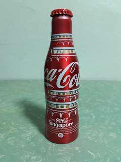 Aluminium coca cola bottle
