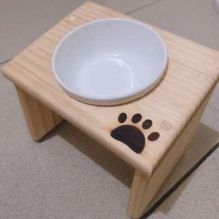 🚚 木製架高碗