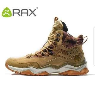 Rax 2018 Waterproof winter hiking shoe Men size eur41/ US8 colour Kaki as shown