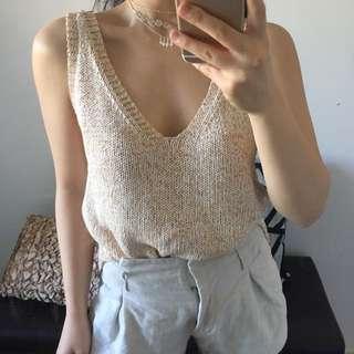 Sheike Knit Sleeveless