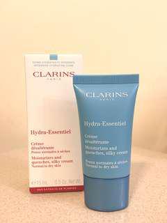 Clarins Hydra-Essentiel Silky Cream 水潤活肌保濕滋潤乳霜 15ml