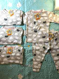 $5 - Top/Bottom, $10/Set pyjamas for boy/girl size up to 3-4 years can wear