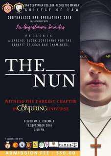 Block Screening The Nun Movie