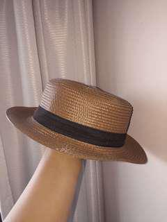 Light Brown Straw Hat