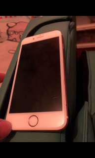 I phone 6s 64gb rose gold