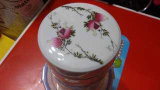 冬至大減价7O年代茶葉罐一对完美,每個7O元