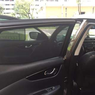 $38/4pcs Nissan Qashqai Magnetic Sunshades