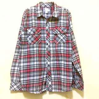 DC flannel Shirt  // kemeja flannel DC