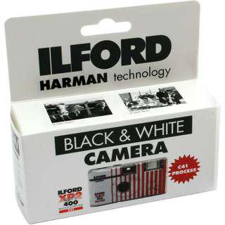 Ilford XP2 Black and White Disposable Camera