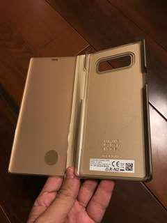 Original Samsung Note 8 Clear View Stand Cover