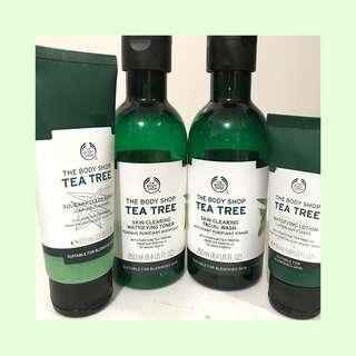 The Body Shop Tea Tree Bundle
