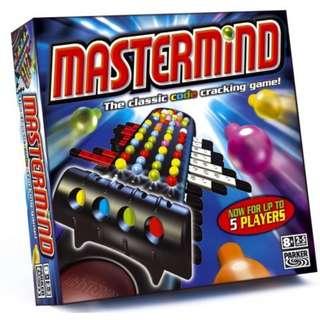 Hasbro 44220 Mastermind - The Classic Code Cracking Game!