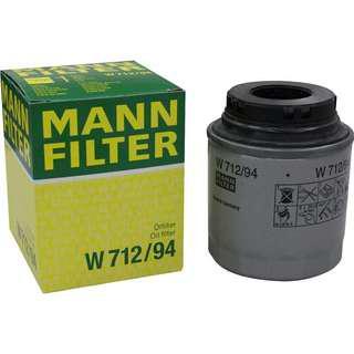 MANN-FILTER W 712/94 Oil FilterVehicle Compatibility: Skoda Fabia Elegance , Rapid 1.6 MPI / Volkswagen Polo 1.2 TSI, Vento 1.6 TSI, Jetta Petrol