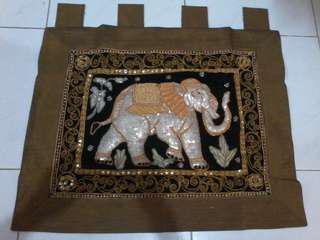 Pajangan gajah thailan