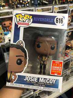 Josie McCoy Riverdale SDCC Shared Sticker Funko Pop
