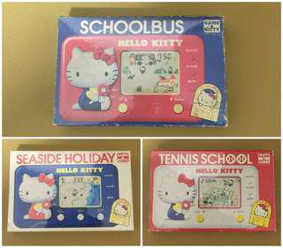 ** 分享 ** Sanrio Hello Kitty 1976 年 (TOMY) 電子遊戲機 (Made in Japan)
