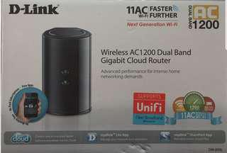 D Link Wireless AC1200 Dual Band GB Cloud Router