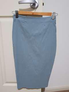 Asos Bodycon High Waist Midi Skirt