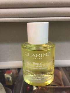 Clarins relax body treatment oil 30ml