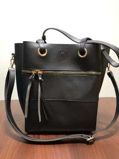 Black bag (Dual way of carrying)