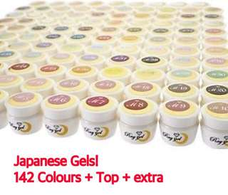 Japanese gels! 142 colours!
