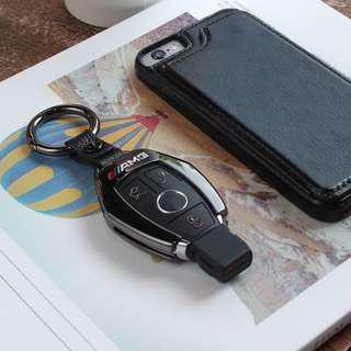 🚚 賓士 AMG 鋅合金材質 鑰匙殼 鑰匙包 E250 E200 CLA GLA GLK GLC C300 A180 通用款