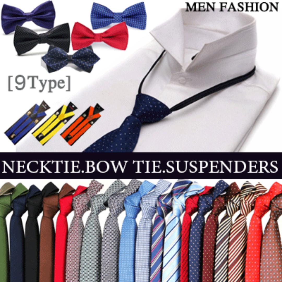 9fa942b9f8c 2017 New Update! Men Fashion NECKTIE BOW TIE   Suspenders Belt ...