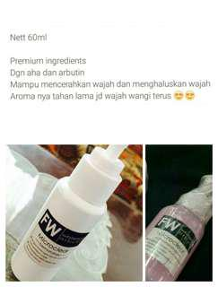 Facial Wash Whitening Aha Arbutin 60ml