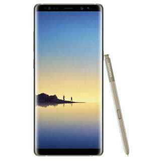 Samsung Galaxy Note8, cellular 4gb Lite. Gray, Silver, Gold colour available