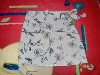 Korean Wrap up tied Skirt