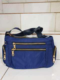 Jual Rugi BOLEH NEGO BARU 1X PAKAI Tas Selempang Wanita Sling Bag Import bahan Nylon anti air tas MURAH BAGUS
