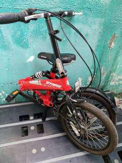 OYAMA high carbon steel light weight floding bike 13kg