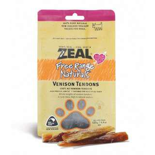 [LOOK HERE] Zeal Free Range Naturals Venison Tendons Dog Treats