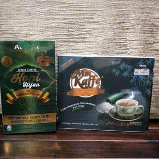 Alana Kopi Hijau & Min Kaffe