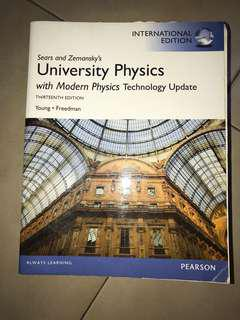 Sears and Zemansky's University physics thirteenth edition