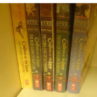 Children of the Lamp series- all 5 books in excellent condition