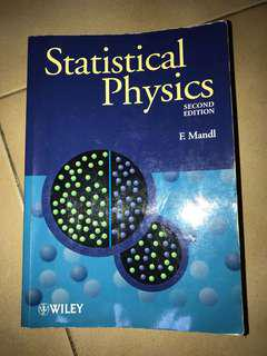 Statistical Physics Second edition Mandl