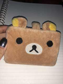 card holder rilakkuma
