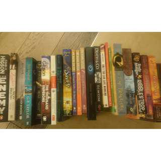 Assorted English Books (Young Adult fiction) in excellent condition