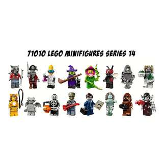 Lego Minifig Series 14 Monster Fighters 71010