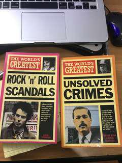 The World's Greatest: Rock 'n' Roll Scandals and Unsolved Crimes