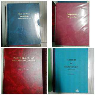 BUNDLE SALE!! Medical Books 4in1