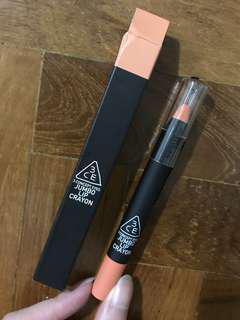 3CE Jumbo lip crayon