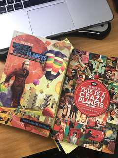 This is a Crazy Planets (Book 1 and 2) by Lourd de Veyra