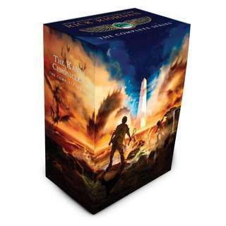 🚚 The Kane Chronicles: The Complete Series Box Set [PO]
