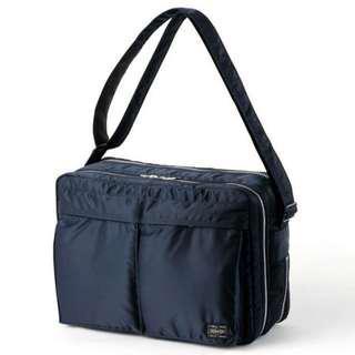 Head Porter Shoulder Bag (XL) navy