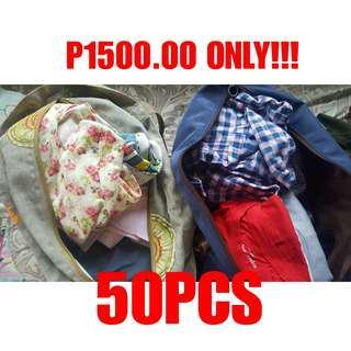 TAKE 50PCS FOR P1500.00 💜💛💚💙❤